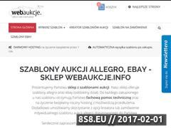 Miniaturka Profesjonalny portal aukcji (webaukcje.info)