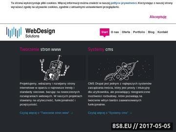 Zrzut strony Tworzenie stron WWW, mobilnych, e-commerce w CMS Drupal - Warszawa, Wrocław
