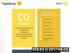 Miniaturka domeny www.webini.pl