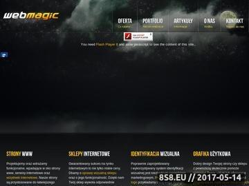 Zrzut strony Projektowanie stron internetowych | identyfikacja wizualna | Grafika użytkowa