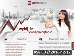 Miniaturka domeny www.webmake.pl