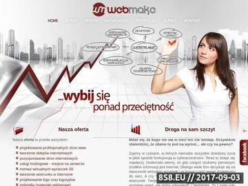Zrzut strony Webmake - Strony Internetowe Stargard Szczeciński, Strony WWW