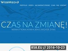 Miniaturka domeny www.webmedio.pl