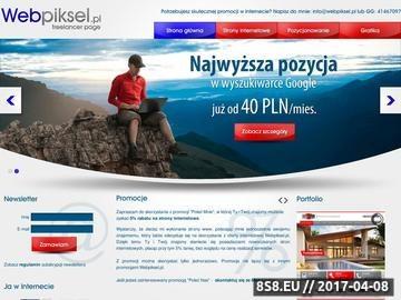 Zrzut strony Tanie i solidne strony internetowe dla przedsiębiorstw z Płocka i Włocławka