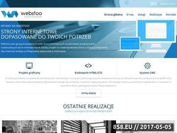 Zrzut strony Tworzenie i projektowanie stron internetowych - Webstoo