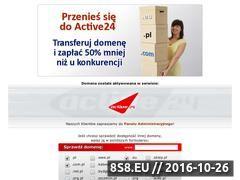 Miniaturka domeny webstrony.com.pl