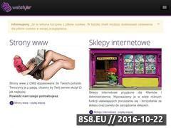 Miniaturka domeny www.webstyler.pl