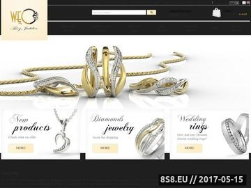 Zrzut strony Firma jubilerska WĘC - biżuteria dla Ciebie
