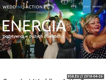 Zrzut strony DJ na wesele Wrocław - DJ wodzirej Wrocł'aw i oprawa muzyczna Wrocław