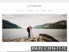 Miniaturka domeny www.weddingteam.pl