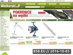 Miniaturka domeny www.wedkarski.com