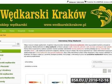 Zrzut strony WedkarskiKrakow.pl - sklep wędkarski