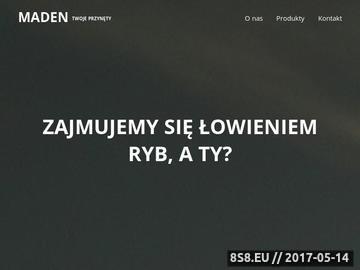Zrzut strony Hurtownia wędkarska Łódź