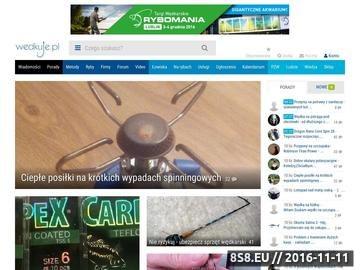 Zrzut strony Portal wędkarski
