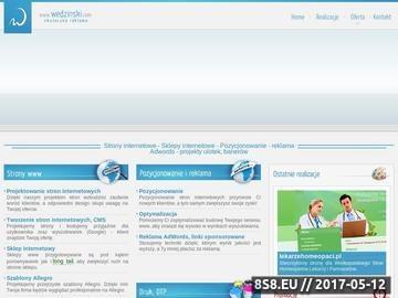 Zrzut strony Tworzenie stron internetowych i pozycjonowanie w Poznaniu