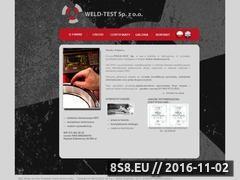 Miniaturka domeny www.weld-test.pl