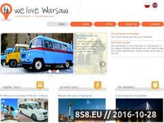 Miniaturka domeny welovewarsaw.pl