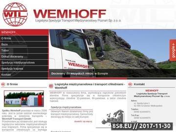 Zrzut strony Transport Do Poznania