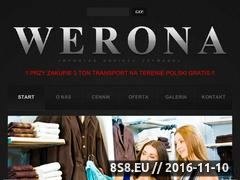 Miniaturka domeny www.werona.biz