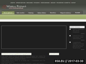Zrzut strony Wesela Poznań