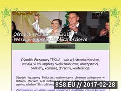 Miniaturka domeny www.wesela.tekila.net.pl