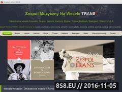 Miniaturka domeny wesele-trans.manifo.com