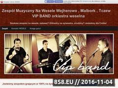 Miniaturka domeny wesele-vip-band.manifo.com