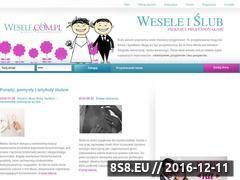 Miniaturka domeny www.wesele.com.pl