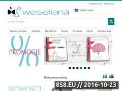 Miniaturka domeny weseliana.pl