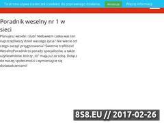 Miniaturka domeny weselneporady.pl