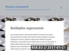 Miniaturka domeny www.weselny-niezbednik.pl