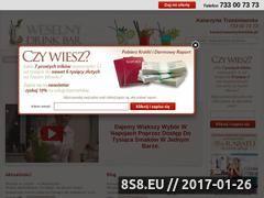 Miniaturka domeny www.weselnydrinkbar.pl