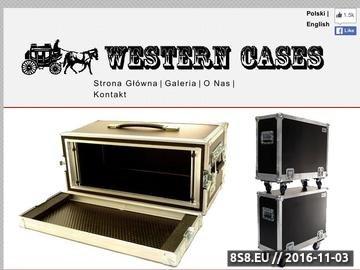 Zrzut strony Produkcja skrzyń transportowych - Western Cases