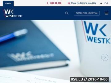 Zrzut strony AS West Kredit - kredyty hipoteczne