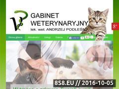 Miniaturka domeny weterynarzpodlesny.pl