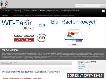 Zrzut strony WF FaKir