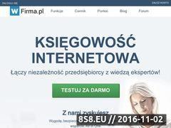 Miniaturka domeny wfirma.pl