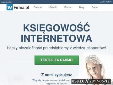 Zrzut strony Program do faktur | Księgowość internetowa | wfirma.pl