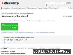 Miniaturka domeny www.wiadomoscipilkarskie.pl