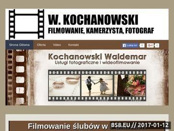 Zrzut strony W. Kochanowski - filmowanie studniówek