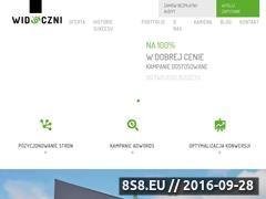 Miniaturka domeny www.widoczni.pl