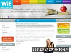 Miniaturka domeny www.wie.edu.pl