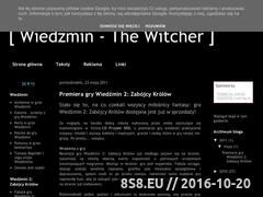 Miniaturka domeny wiedzmin2.blogspot.com