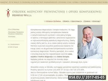 Zrzut strony OMPiOK badania moczu