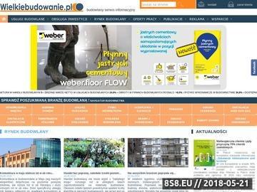 Zrzut strony Giełda zleceń budowlanych - zlecenia budowlane z całej Polski