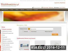 Miniaturka domeny www.wielobranzowe.pl