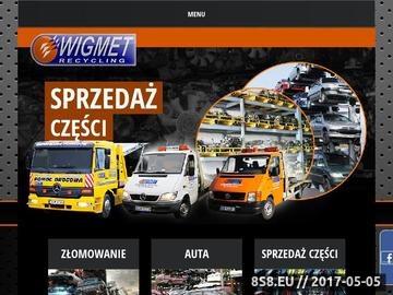 Zrzut strony Kasacja samochodów Wrocław