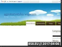 Thumbnail of Agroturystyka Wielkopolska - Wigwam Website