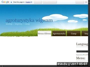 Zrzut strony Agroturystyka Wielkopolska
