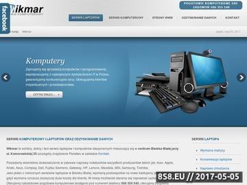 Zrzut strony Wikmar - serwis komputerowy i laptopów